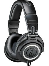 Audio-Technica ATH-M50X Professional Monitor Headphones (Black)