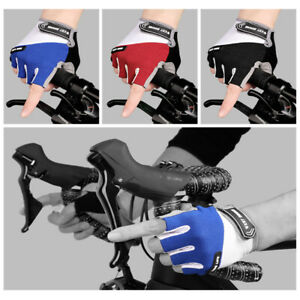 Cycling Half Finger Glove Gel Pad Breathable Outdoor Sports MTB Non-slip Gloves