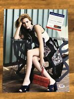 Zoey Deutch The Year Of Spectacular Men SIGNED 11x14 Autograph PHOTO PSA/DNA COA