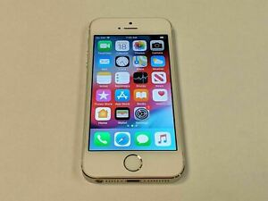 Apple iPhone 5s A1533 32GB Verizon Wireless White/Silver Smartphone/Cell Phone