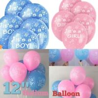 ITS A BOY GIRL HELIUM BALLOONS NEW Baby PARTY BABY SHOWER CELEBRATION baloons