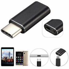 Aluminium Micro USB to Type C Charger Adapter for Samsung Galaxy S8 Plus Note 8