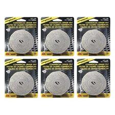 Shepherd Hardware 6710 Commercial Grade Felt Roll Strong Adhesive Buffer, 6-Pack