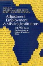 Adjustment, Employment and Missing Institutions in Africa: The Experience in Eas