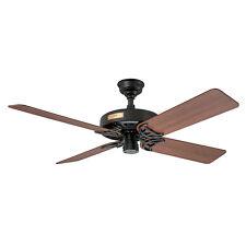 """HUNTER 52"""" Indoor/Outdoor Ceiling Fan The Original Black 23838"""