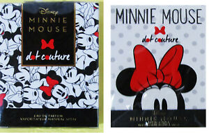Disney Minnie Mouse - Two Different Perfumes 50ml each - Rare