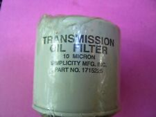 Genuine Simplicity Transmission Oil Filter Fits Simplicity 1715225  OEM :