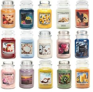 Village Candle - DOUBLE WICK LARGE JAR CANDLE 26oz - Choice Of Fragrances