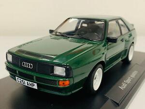 Norev Audi SPort Quattro 1985 Green 1/18 188317 11 0920