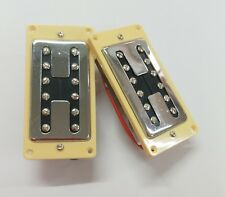 1 set Chrome Neck & Bridge Humbucker Pickups For LP Les Paul Electric Guitar