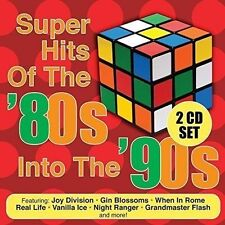VARIOUS ARTISTS - SUPER HITS OF THE '80S INTO THE '90S USED - VERY GOOD CD
