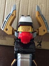 Power Rangers Samurai Shogun Bazooka Pistola niños juego de rol con disco blanco y sonidos