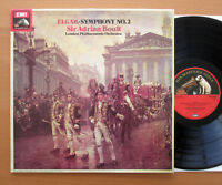 ASD 3266 Elgar Symphony no. 2 Sir Adrian Boult London Philharmonic NM/EX Quad
