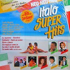 Italo SUPER HITS (1989) Eros Ramazzotti, Scialpi, Paolo Conte, Lucio BA... [2 LP]