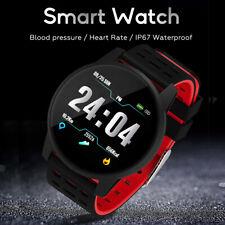 Reloj inteligente Pulsera Pulsera Ritmo Cardíaco Monitor de presión arterial Fitness Tracker