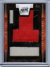 11/12 PANINI BOBBY CLARKE #62 PRIME COLORS NUMBER PATCH #6/7 PHILADELPHIA FLYERS