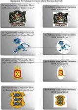 Aufkleber Wetterfest Sticker-Designs:SONDERANFERTIGUNG / Eigener Vorlage