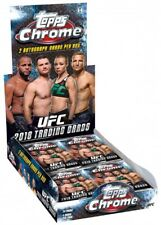 2018 UFC Chrome Trading Card HOBBY Box [24 Packs]