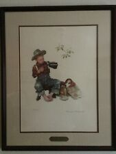 Norman Rockwell color lithograph
