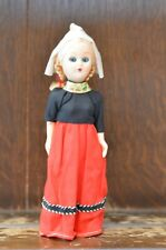 Lovely VINTAGE Traditional National Costume Doll from the Netherlands 20cm Tall