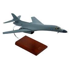 "Airplane USAF Rockwell B-1B Lancer Bomber 18"" Desktop Model Aircraft"