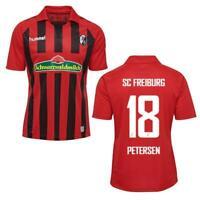 Hummel Herren SC Freiburg SCF Home Trikot 2019 2020 Heimtrikot Petersen 18 rot