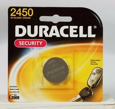 DURACELL 2450 Button Coin Battery Lithium 3 volt DL2450 CR2450 Security Medical