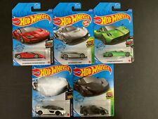 Hot Wheels Lotto Di 5 Auto W/ Koenigsegg Jesko, Centenario, Huayra 1/64 2020 P