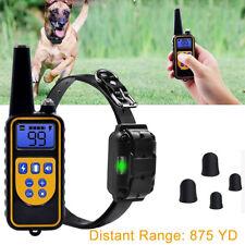 800M Collare Antiabbaio Scossa elettrico per cani da Addestramento Anti Abbaio