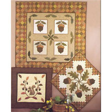 ACORN HARVEST QUILT QUILTING PATTERNS, 3 Patterns From The City Stitcher NEW