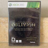 Elder Scrolls IV Oblivion Game of the Year Edition (Xbox 360) GOTY
