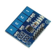TTP224 4-way Capacitive Touch Switch Module Digital Touch Sensor For Arduino FE