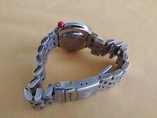 "ALAIN SILBERSTEIN KLOK  WATCH  ""TENNIS""  with 2 steel bracelets. New Old Stock"