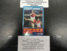 2007 TEAMCOACH BLUE PRIZE CARD NO.176 RYAN O'KEEFE SYDNEY SWANS