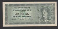 Yugoslavia 10 Dinara 1950  AU-UNC P. 67S,   Banknote, Uncirculated