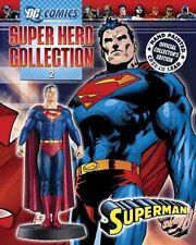 SUPERMAN FIGURE - DC SUPERHERO FIGURINE & MAGAZINE #2 (NOT CHESS)