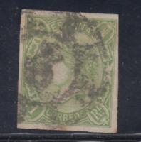 ESPAÑA (1865) USADO SPAIN - EDIFIL 72 (1 r) ISABEL II - LOTE 1
