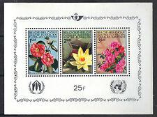 Belgium 1970 Ghent International Flower Exhibition MNH S/S Sc # 736a