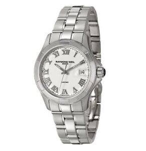 RAYMOND WEIL Parsifal AUTOMATIC Gents Watch 2970-ST-00308 - RRP £1825 BRAND NEW