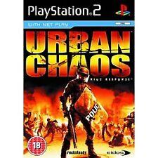 Urban Chaos Game PS2