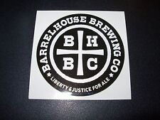 BARRELHOUSE BREWING Paso Robles California STICKER craft beer brewery brewing