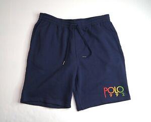 POLO RALPH LAUREN Men's Polo 1992 Logo Fleece Shorts NEW NWT