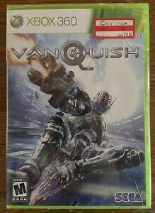 VANQUISH (Xbox 360, 2010) **FACTORY SEALED**