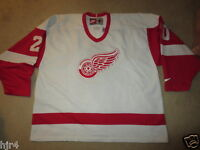 Detroit Red Wings #20 NHL Hockey Nike Sewn Jersey XL mens