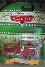 "DISNEY PIXAR CARS ""SNOWPLOW LIGHTNING McQUEEN - CHRISTMAS CARS"" NEW IN PACKAGE"