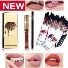 Long Lasting Waterproof Lipsticks Matte Liquid Lip Gloss Lip Liner Cosmetics Hot