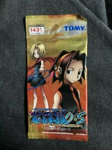 One Sealed Shaman King Card Game Japanese Orange OS Booster Pack by TOMY