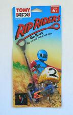 Vintage Tomy AFX RIP RIDERS GO KART Racer MOC 1991
