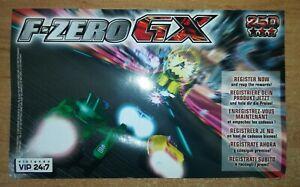 F-ZERO GX VIP POINTS (PAL) - NINTENDO GAMECUBE *BEST OFFER* *TRACKED*