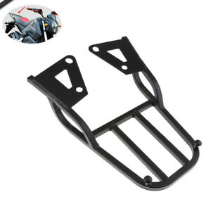Motorcycle Trunk Seat Rear Box Tool Tail Fin Shelf Strong Luggage Rack Universal